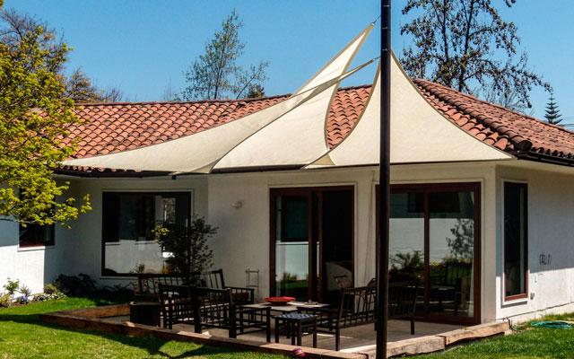 Remodelacion de exteriores paisajismo jardines - Toldos para exteriores ...